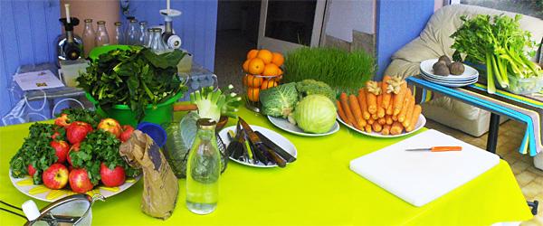 les Ateliers jus de légumes et de fruits d'Agnès Escudier Naturopathe