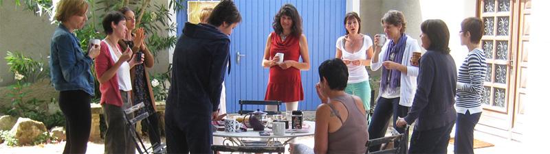 Reliance 84 école de réflexologie journée portes ouvertes 2015 à l'espace fenouil de carpentras